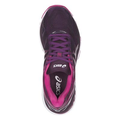 Asics Gel-Nimbus 19 Ladies Running Shoes AW17 - Black/Above