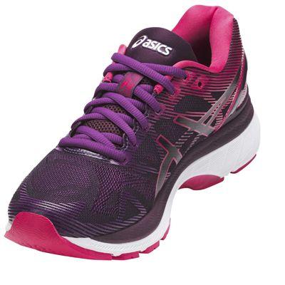 Asics Gel-Nimbus 19 Ladies Running Shoes AW17 - Black/Angled