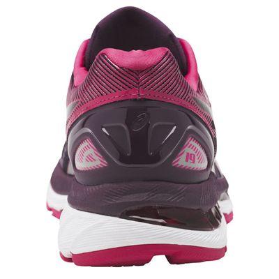 Asics Gel-Nimbus 19 Ladies Running Shoes AW17 - Black/Back