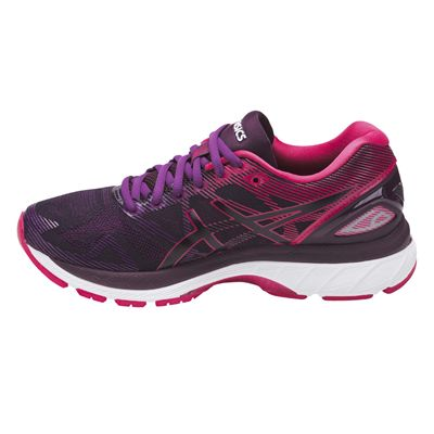 Asics Gel-Nimbus 19 Ladies Running Shoes AW17 - Black/Side