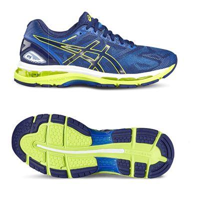 Asics Gel-Nimbus 19 Mens Running Shoes-blue-main