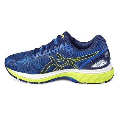 Asics Gel-Nimbus 19 Mens Running Shoes-blue-side