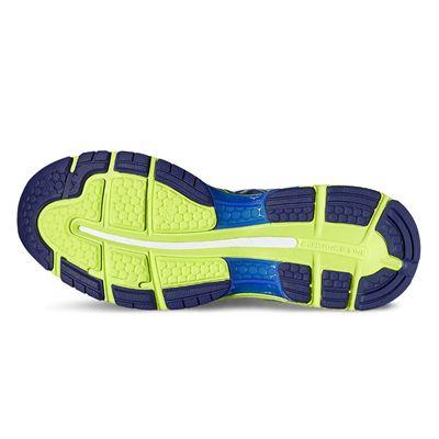 Asics Gel-Nimbus 19 Mens Running Shoes-blue-sole