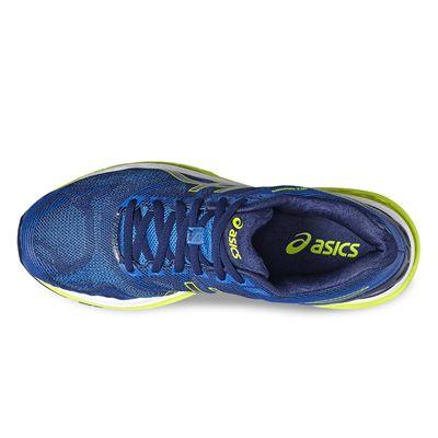 Asics Gel-Nimbus 19 Mens Running Shoes-blue-top