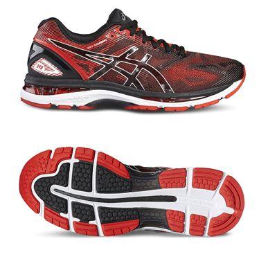 Asics Gel-Nimbus 19 Mens Running Shoes-red-main
