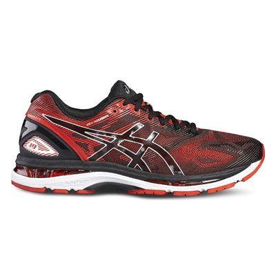 Asics Gel-Nimbus 19 Mens Running Shoes-red-side