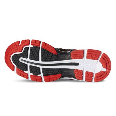 Asics Gel-Nimbus 19 Mens Running Shoes-red-sole