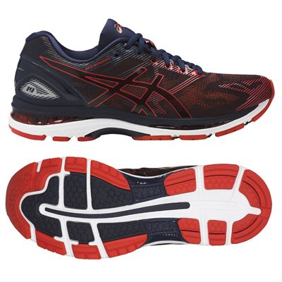 Asics Gel-Nimbus 19 Mens Running Shoes - Red