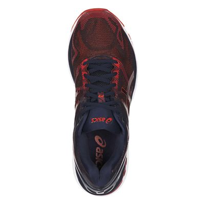 Asics Gel-Nimbus 19 Mens Running Shoes AW17 - Red - Above