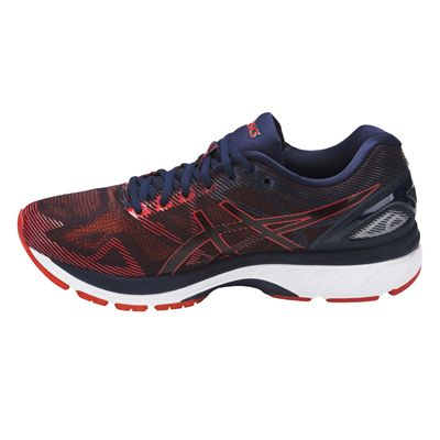 Asics Gel-Nimbus 19 Mens Running Shoes AW17 - Red/Side