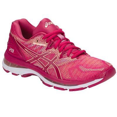 Asics Gel-Nimbus 20 Ladies Running Shoes - Angled