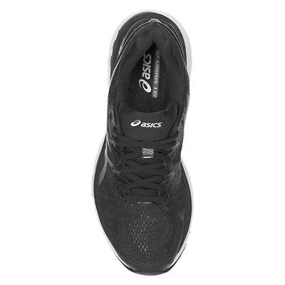 Asics Gel-Nimbus 20 Ladies Running Shoes - Black - Above