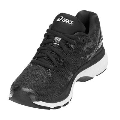 Asics Gel-Nimbus 20 Ladies Running Shoes - Black - Angled2