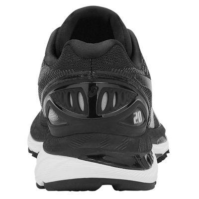 Asics Gel-Nimbus 20 Ladies Running Shoes - Black - Back