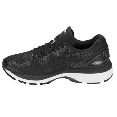 Asics Gel-Nimbus 20 Ladies Running Shoes - Black - Side