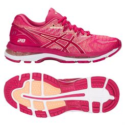Asics Gel-Nimbus 20 Ladies Running Shoes SS18
