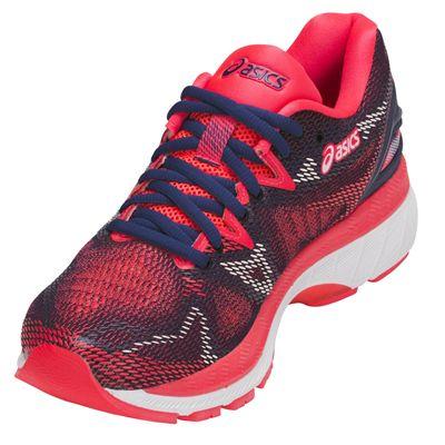 Asics Gel-Nimbus 20 Ladies Running Shoes AW18 - Pink - Angled
