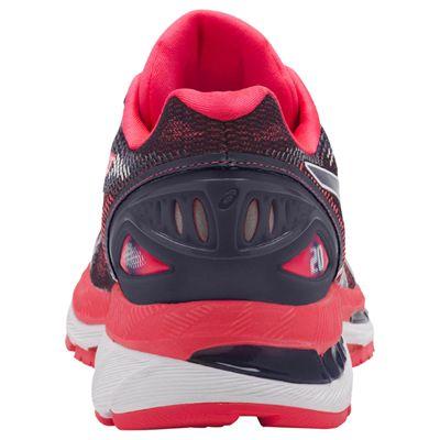 Asics Gel-Nimbus 20 Ladies Running Shoes AW18 - Pink - Back