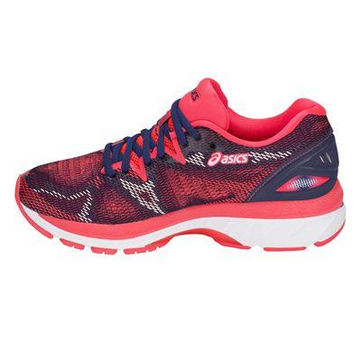 Asics Gel-Nimbus 20 Ladies Running Shoes AW18 - Pink - Side