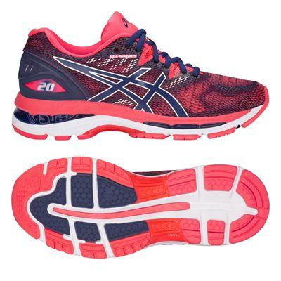 Asics Gel-Nimbus 20 Ladies Running Shoes AW18 - Pink