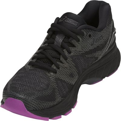 Asics Gel-Nimbus 20 Lite-Show Ladies Running Shoes - Angled1