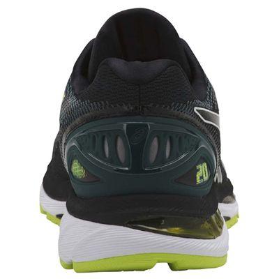 Asics Gel-Nimbus 20 Mens Running Shoes AW18 - Black - Back