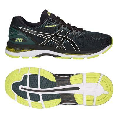 Asics Gel-Nimbus 20 Mens Running Shoes AW18 - Black