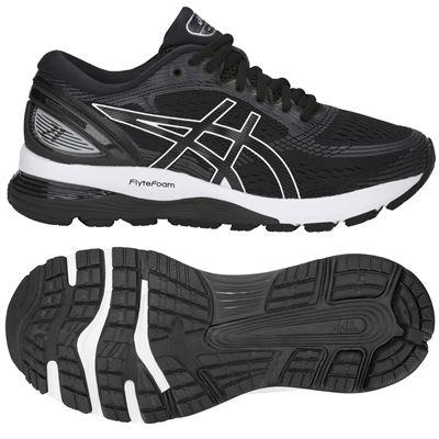 Asics Gel-Nimbus 21 Ladies Running Shoes - Black