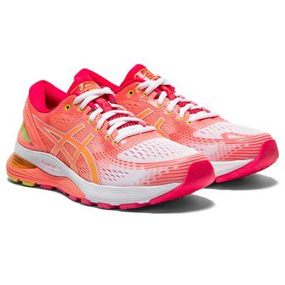 Asics Gel-Nimbus 21 Ladies Running Shoes AW19 - Angled