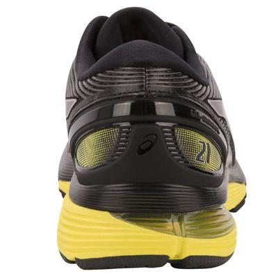 Asics Gel-Nimbus 21 Mens Running Shoes - Black - Back