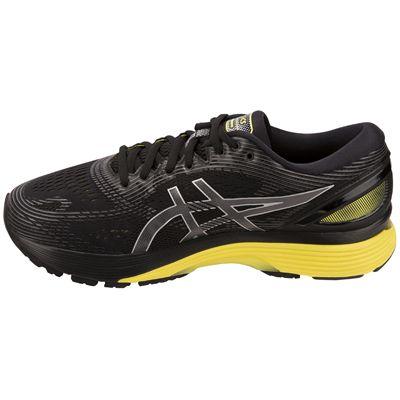 Asics Gel-Nimbus 21 Mens Running Shoes - Black - Side