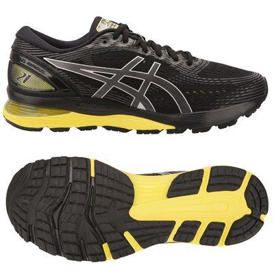 Asics Gel-Nimbus 21 Mens Running Shoes - Black