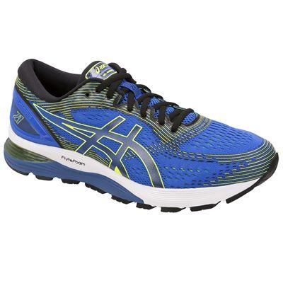Asics Gel-Nimbus 21 Mens Running Shoes - Blue - Angle