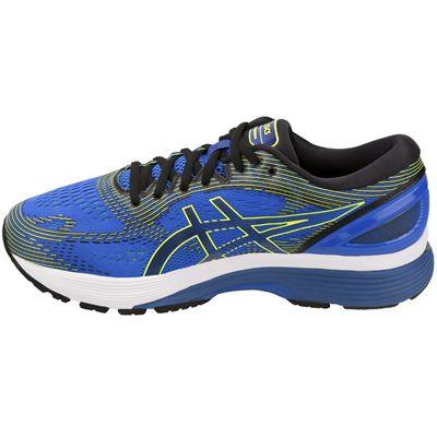 Asics Gel-Nimbus 21 Mens Running Shoes - Blue - Side