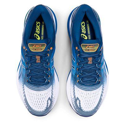 Asics Gel-Nimbus 21 Mens Running Shoes AW19 - Blue - Above