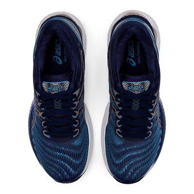 Asics Gel-Nimbus 22 Ladies Running Shoes - Navy - Above