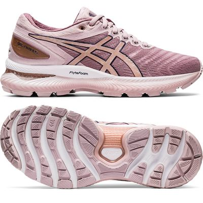 pink asics shoes