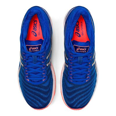 Asics Gel-Nimbus 22 Mens Running Shoes - Blue - Above