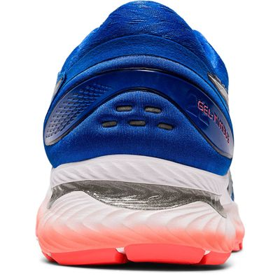 Asics Gel-Nimbus 22 Mens Running Shoes - Blue - Back