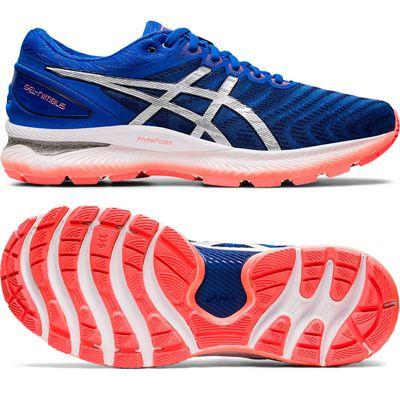 Asics Gel-Nimbus 22 Mens Running Shoes - Blue