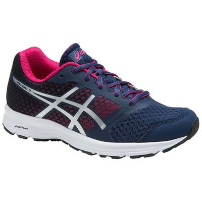 Asics Gel-Patriot 9 GS Girls Running Shoes - Angled