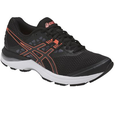 Asics Gel-Pulse 9 Ladies Running Shoes - Black/Angled