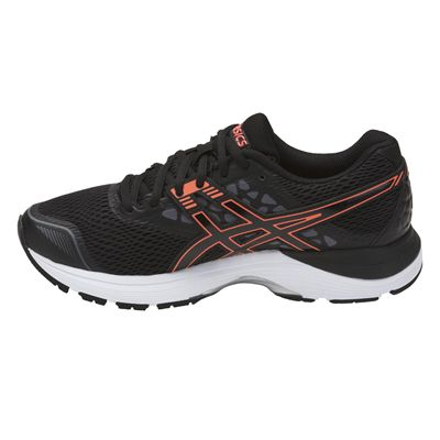 Asics Gel-Pulse 9 Ladies Running Shoes - Black/Side