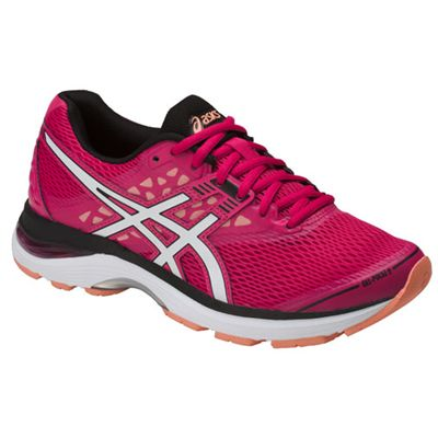 Asics Patriot 9 Ladies Running Shoes - Angled