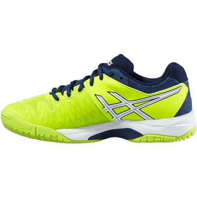Asics Gel-Resolution 6 GS Junior Tennis Shoes-Side