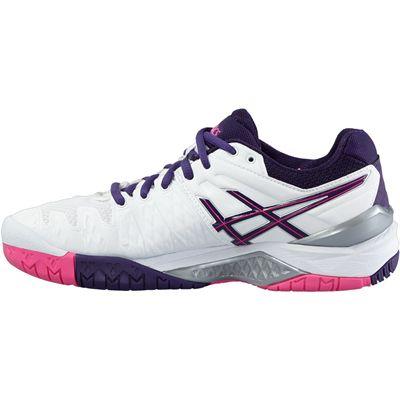 Asics Gel-Resolution 6 Ladies Tennis Shoes-Side