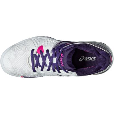 Asics Gel-Resolution 6 Ladies Tennis Shoes-Top