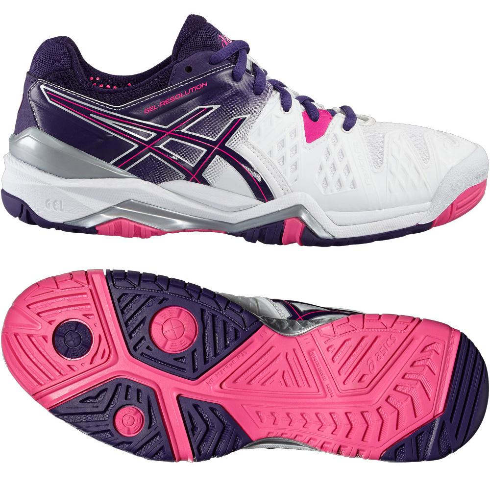Asics GelResolution 6 Ladies Tennis Shoes  4.5 UK