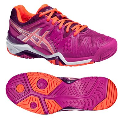 Asics Gel-Resolution 6 Ladies Tennis Shoes SS16
