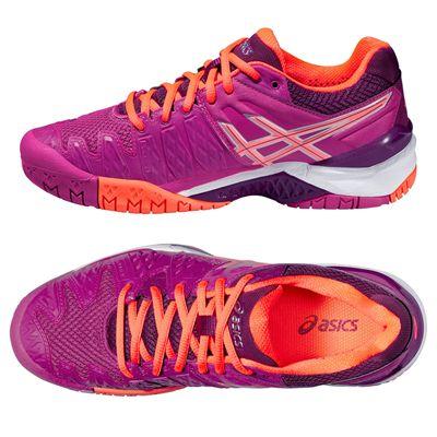 Asics Gel-Resolution 6 Ladies Tennis Shoes SS16 Alternative View